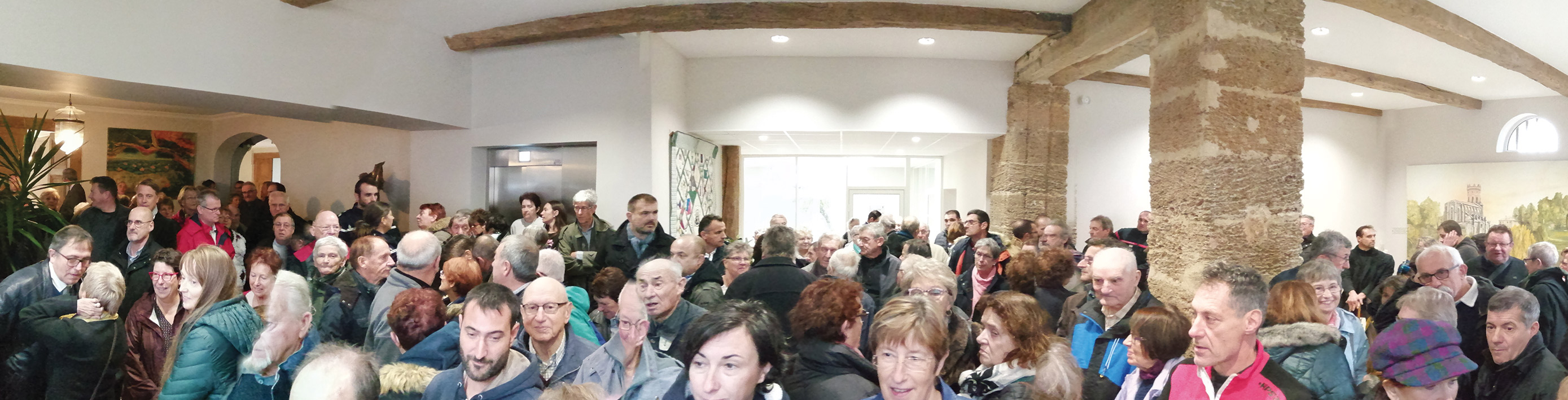 Mairie Le Houga - Inauguration nouvelle Mairie